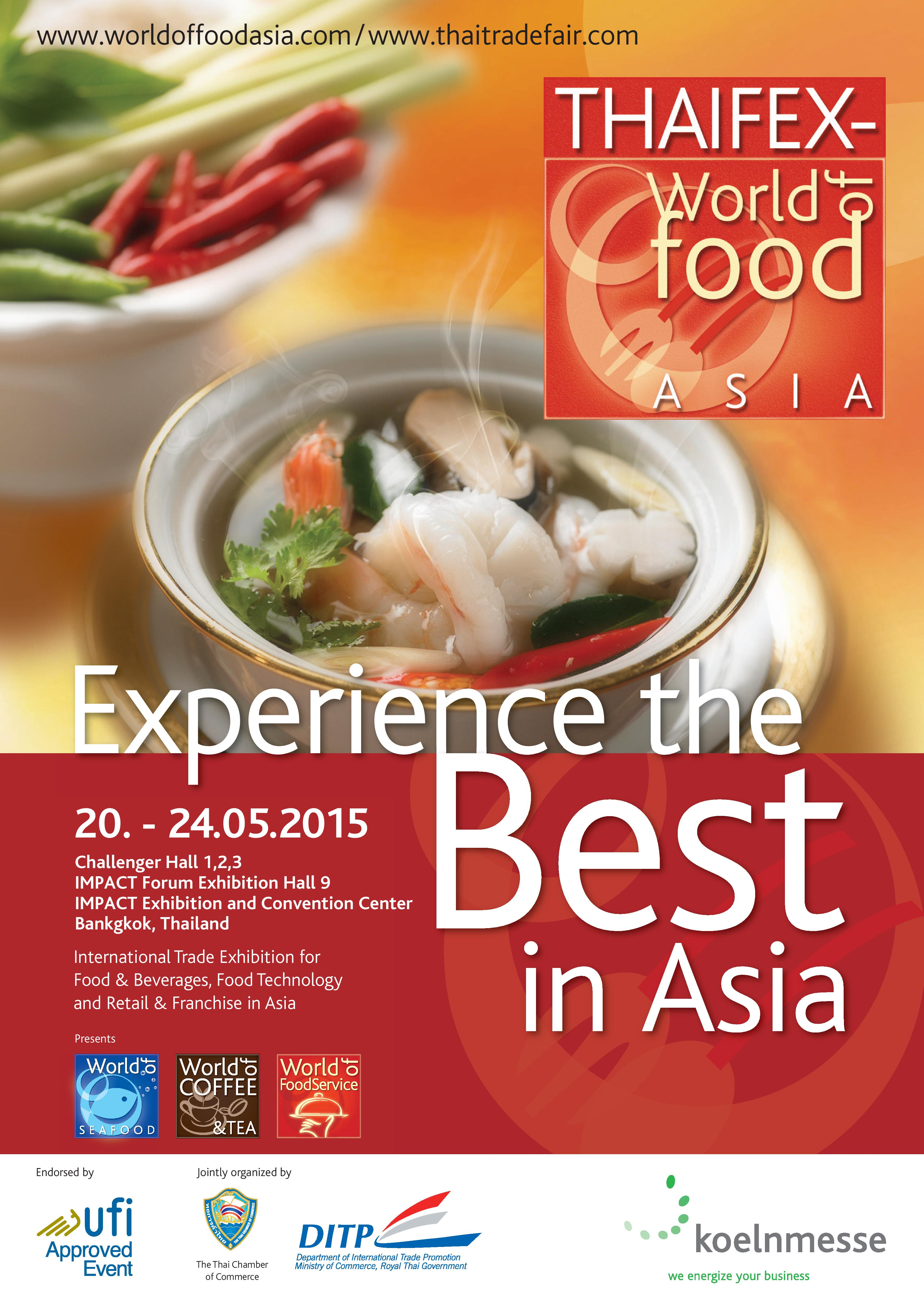 THAIFEX – World of Food ASIA 2017 & NGHI SON