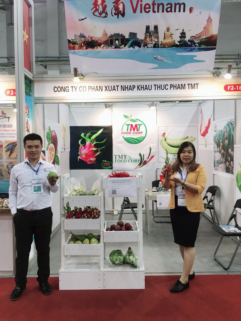 TMT FOODS JSC IN GUANGDONG 21TH  CENTURY MARITIME SILK ROAD INTERNATIONAL EXPO